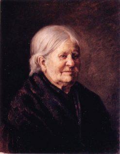 Portrait of Fredrika Snygg | Albert Edelfelt | Oil Painting