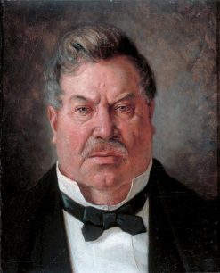 Portrait of August Streng | Albert Edelfelt | Oil Painting