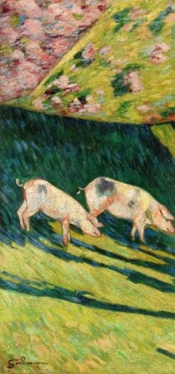 Pigs | Armand Guillaumin | Oil Painting