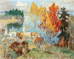 Autumn Day   Konstantin Gorbatov   Oil Painting