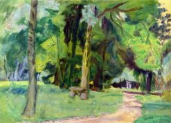 A Walk in the Woods | Pierre Bonnard | Oil Painting