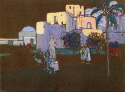 Ruin | Wassily Kandinsky | Oil Painting