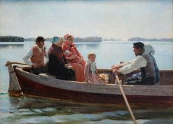 Going to the Christening | Albert Edelfelt | Oil Painting
