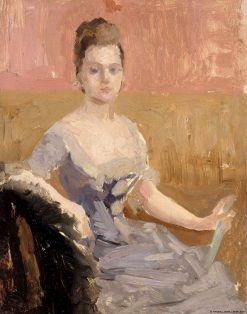 Portrait Study of Countess Augusta Lewenhaupt | Albert Edelfelt | Oil Painting