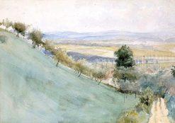 Mäenrinne from Montbéliard | Albert Edelfelt | Oil Painting