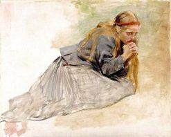 Mary Magdalene Kneeling