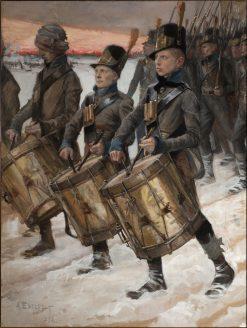 The Pori March | Albert Edelfelt | Oil Painting