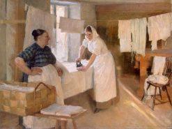 Laundresses | Albert Edelfelt | Oil Painting