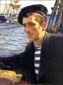 A Seaman from Uusimaa | Albert Edelfelt | Oil Painting