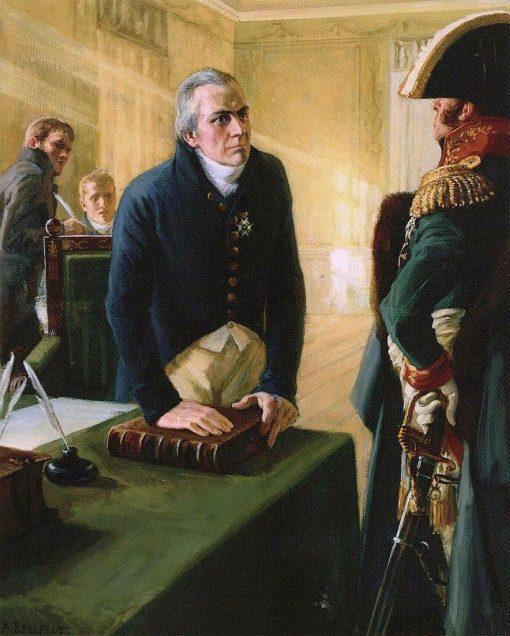 The Governor | Albert Edelfelt | Oil Painting