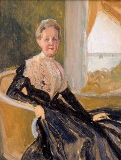 Portrait of Countess Elisabeth Wachtmaister (compositional sketch) | Albert Edelfelt | Oil Painting