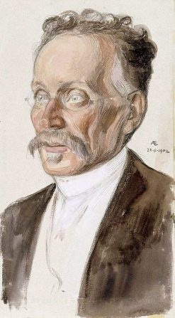 Portrait of Professor J.W. Runeberg | Albert Edelfelt | Oil Painting
