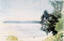 Beach Landscape | Albert Edelfelt | Oil Painting