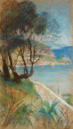 Mediterranean Landscape | Albert Edelfelt | Oil Painting