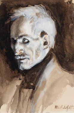 Vänrikki Stool | Albert Edelfelt | Oil Painting