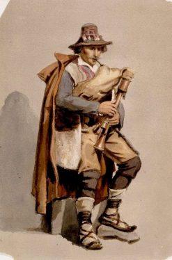 Piper | Albert Edelfelt | Oil Painting