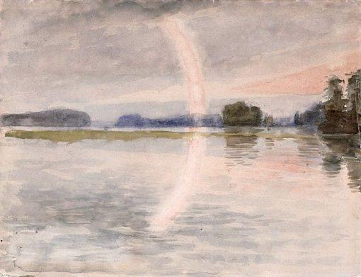 Beach Scene | Albert Edelfelt | Oil Painting