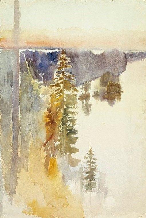View from Kaukola Ridge | Albert Edelfelt | Oil Painting