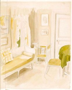 Interior of the Artist's Home | Albert Edelfelt | Oil Painting
