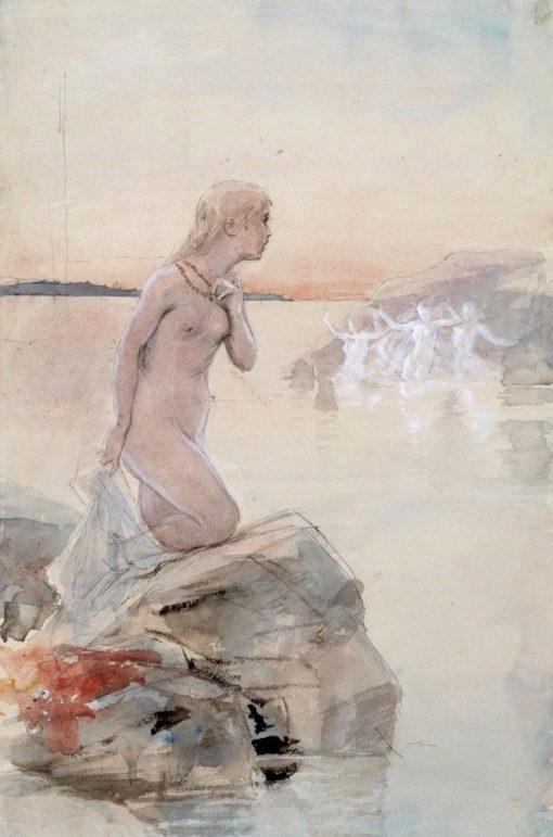 Aino | Albert Edelfelt | Oil Painting