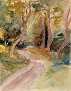 Metsänsisusta | Albert Edelfelt | Oil Painting