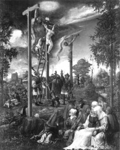 The Crucifixion | Albrecht Altdorfer | Oil Painting