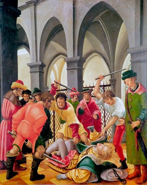 Niederknüppelung   Albrecht Altdorfer   Oil Painting