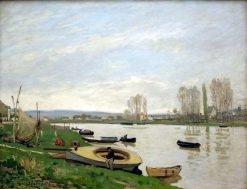 The Seine at Argenteuil | Alfred Sisley | Oil Painting