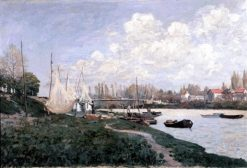 Drying Nets | Alfred Sisley | Oil Painting