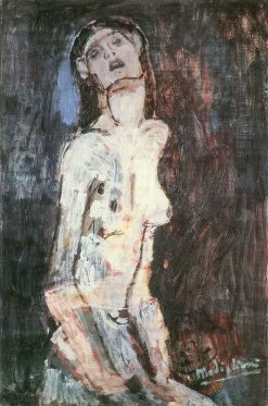 Nude Suffering | Amedeo Modigliani | Oil Painting