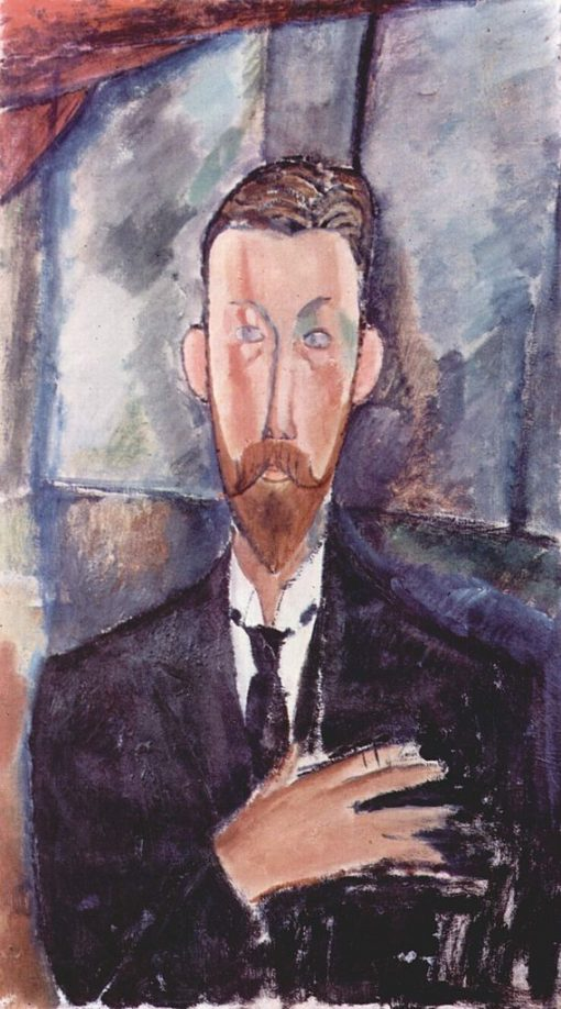 Portrait of Paul Alexandre | Amedeo Modigliani | Oil Painting