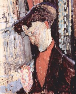 Portrait of Frank Burty Haviland | Amedeo Modigliani | Oil Painting
