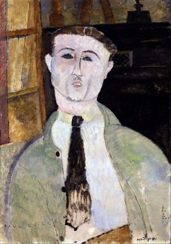 Paul Guillaume | Amedeo Modigliani | Oil Painting
