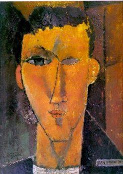Raymond Radiguet | Amedeo Modigliani | Oil Painting