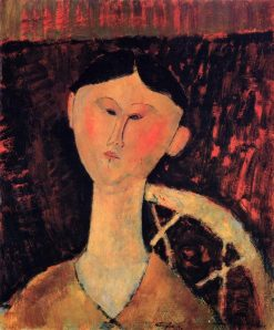 Beatrice Hastings | Amedeo Modigliani | Oil Painting