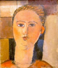 Red-Haired Girl | Amedeo Modigliani | Oil Painting