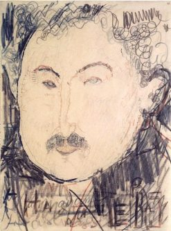 Portrait of Adolphe Basler | Amedeo Modigliani | Oil Painting