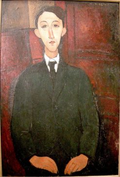 Portrait of the painter Manuel Humbert | Amedeo Modigliani | Oil Painting
