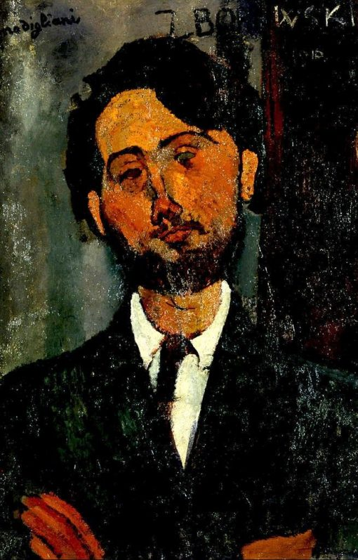Léopold Zborowski | Amedeo Modigliani | Oil Painting