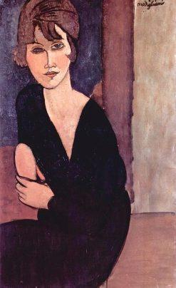 Portrait de Madame Reynouard   Amedeo Modigliani   Oil Painting