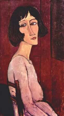 Portrait of Margherita | Amedeo Modigliani | Oil Painting