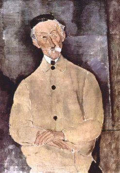 Portrait of Monsieur Lepoutre | Amedeo Modigliani | Oil Painting
