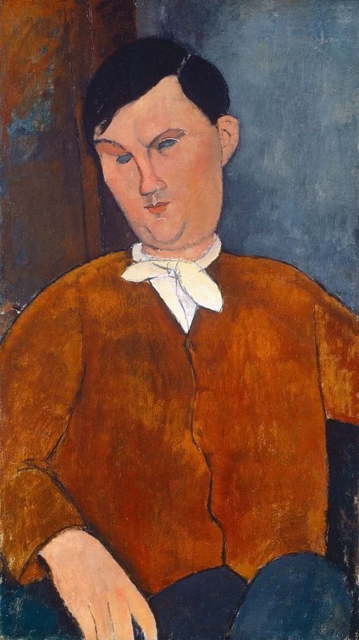 Monsieur Deleu | Amedeo Modigliani | Oil Painting