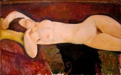 Reclining Nude | Amedeo Modigliani | Oil Painting