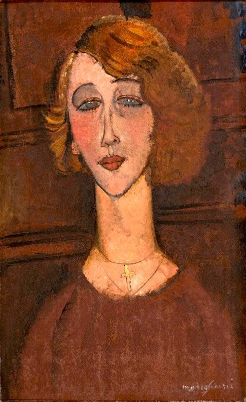 Renée   Amedeo Modigliani   Oil Painting