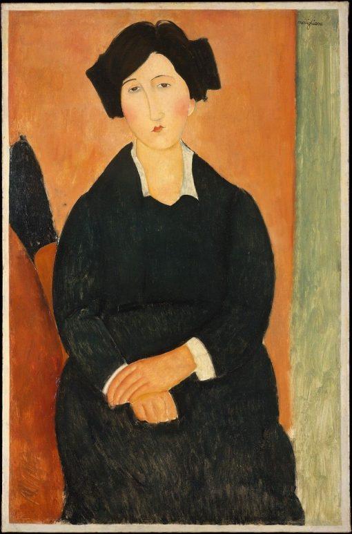 The Italian Woman | Amedeo Modigliani | Oil Painting