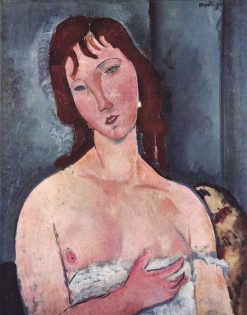 Young Woman | Amedeo Modigliani | Oil Painting