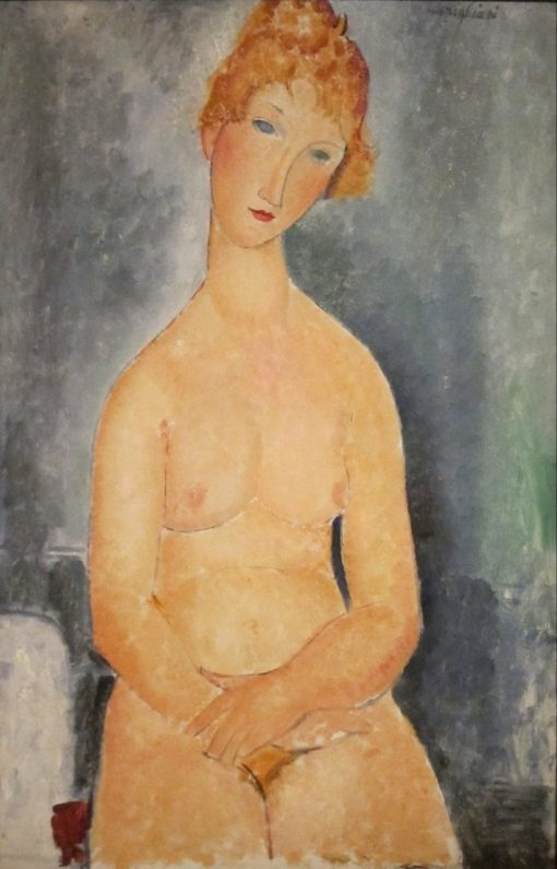 Seated Nude | Amedeo Modigliani | Oil Painting