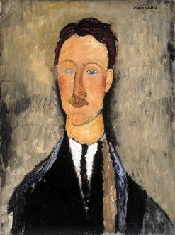 The Artist Léopold Survage | Amedeo Modigliani | Oil Painting
