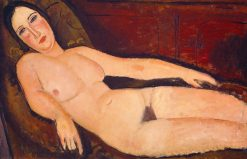 Nude on a Divan | Amedeo Modigliani | Oil Painting